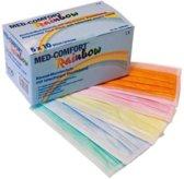 Mondkapjes Medisch Multicolor - Met Elastiek – Weg
