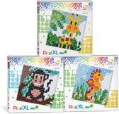 Pixel XL set giraffe, aapje, cocktail
