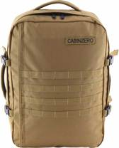 Cabinzero Military - handbagage rugzak - 55x40x20 cm - 44 liter - Desert Sand