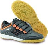 Brabo Klittenband Indoor Sportschoenen - Maat 32 - Unisex - zwart/oranje