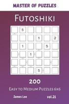 Master of Puzzles - Futoshiki 200 Easy to Medium Puzzles 6x6 vol.21