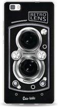 Casetastic Softcover Huawei P8 Lite - Camera Retro Lens