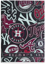 MLB Teams - Schrift A4 - Ruit