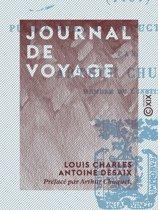 Journal de voyage