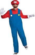Mario™ Deluxe outfit voor volwassenen - Verkleedkleding - XXL