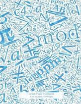 Graph Paper Notebook 1cm Squares 120 Pages