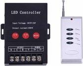 360 W 4 sleutels RF afstandsbediening Iron Shell LED Controller, DC 5-24V (zwart)