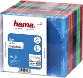 Hama 04751166 Cd Slim Box - 25 stuks / Gekleurd