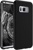Zwart TPU Siliconen hoesje voor Samsung Galaxy S8