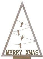 Cosy&Trendy Moderne Kerstboom met clips - 50 x 36 cm