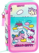 Hello Kitty Eenhoorn - Gevulde Etui - 20.5 cm - 28 stuks - Multi