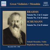 Menuhin: Schumann.Brahms