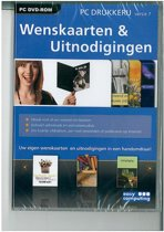 PC Drukkerij 7, Wenskaarten & Uitnodigingen  (DVD-Rom)