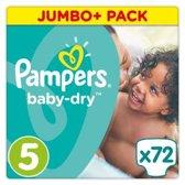 Pampers Baby Dry Luiers Maat 5 (11-23 kg) 72 stuks
