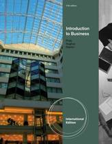 Introduction to Business, International Edition