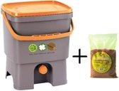 Bokashi Basic starter set Basic - maak zelf bodemverbeteraar van uw keukenafval!