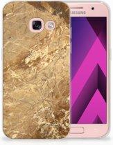 Samsung Galaxy A3 2017 TPU siliconen Hoesje Design Marmer