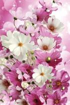 Password Log Book: Beautiful Pink Flower Shiny Discreet Secret Password Keeper and Online Organizer. For Private Website Usernames and Pa