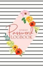 Password Logbook: Passwords Alphabetical Organizer Log Book, Notebook To Protect Usernames and Passwords, Address Website, Username, Pas