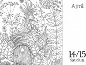 UK Johanna Basford 2018 Colouring Day-To-Day Calendar