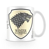Starskie Game of Thrones Stark Emblem Boxed Mug