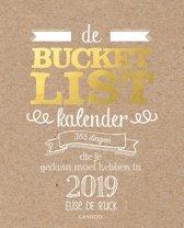 De bucketlist scheurkalender 2019