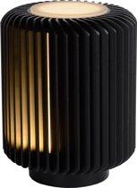Lucide TURBIN - Tafellamp - LED - 1x5W 3000K - Zwart