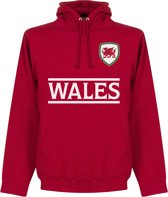 Wales Team Hooded Sweater  - L