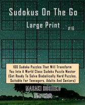 Sudokus on the Go Large Print #16
