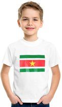 Suriname t-shirt kinderen Xs (110-116)