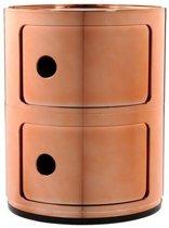 Componibili bijzettafel metallic (2 comp.) koper 32