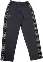 broek met zwarte bies grijs