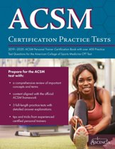 ACSM Certification Practice Tests 2019-2020