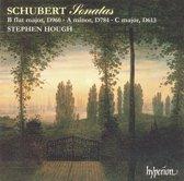 Schubert: Sonatas D 960, D 784, D 613 / Stephen Hough