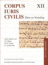 Corpus Iuris Civilis XII - Corpus Iuris Civilis Novellen 115-168