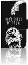 Samsung Galaxy Core Prime Uniek Boekhoesje Zombie