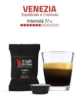 Lavazza A Modo Mio, 100 koffiecapsules passend voor alle Lavazza A Modo Mio- koffiemachines  - Il Caffè Italiano - Blend Venezia, Intensiteit 7
