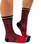 Sock My Tartan - Damessok - Katoen - geprinte sok