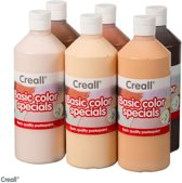 Creall plakkaatverf 6x500ml colours of the world