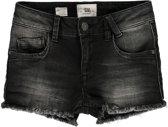 America Today Meisjes Denim blouse Neda jr. - Washed Black - Maat 110/116