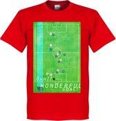Pennarello Michael Owen 1998 Classic Goal T-Shirt - XS