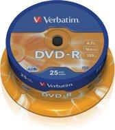 Verbatim 43522 AZO DVD-R Schijven - 25 Stuks / Spindel