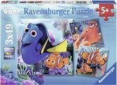 Ravensburger Disney Finding Dory Vind Dory Drie puzzels van 49 stukjes