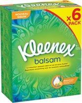 Kleenex Balsam Tissues - 6 x 72 stuks - Voordeelverpakking