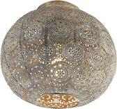 QAZQA baloo - Plafondlamp - 1 lichts - Ø 285 mm - Goud/messing