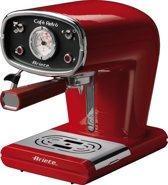 Ariete Cafe Retro Cappuccino Machine Rood