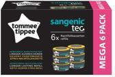 Sangenic TEC 6-pack Citrus navul cassettes bij voor luieremmers