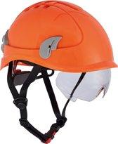 Cerva Alpinworker Lichte Bouwhelm Veiligheidshelm met veiligheidsbril – Oranje