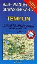 Templin 1 : 35 000 Rad-, Wander- und Gewässerkarte