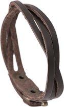 Montebello Armband Anchusa - Heren - Leer - 21.5 cm